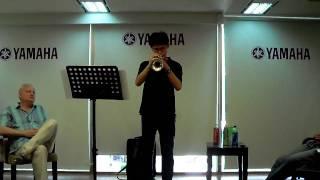 CASCADES for Solo Trumpet