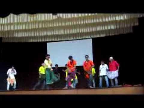DJANGO DANCE BY SAHRDAYA BM BOYS 2010-14 \m/
