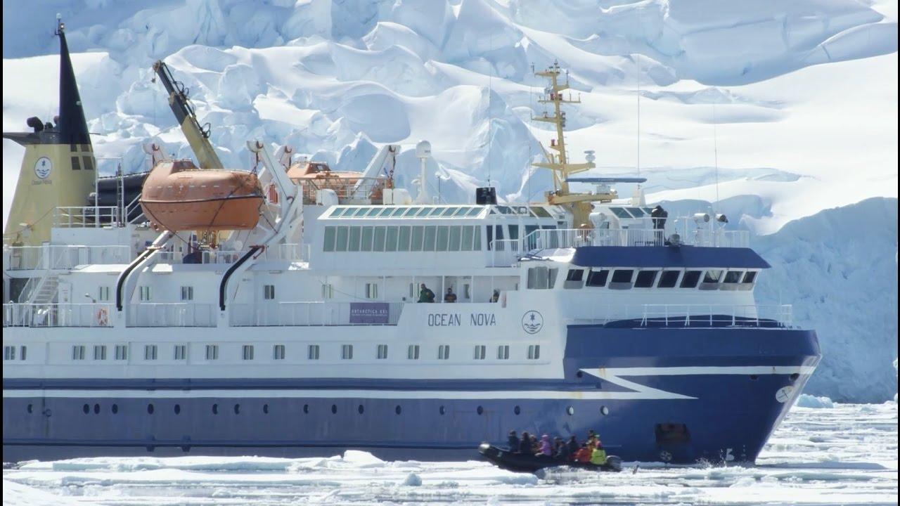 【動画】南極クルーズ 耐氷船