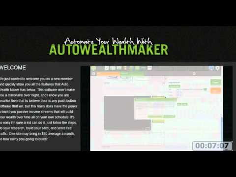 Auto Wealth Maker Review  What is inside