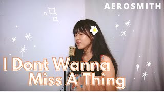 I Don't Wanna Miss A Thing - Aerosmith (Cover)