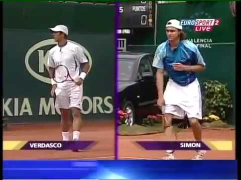 Valencia 2006 SF - Simon vs Verdasco