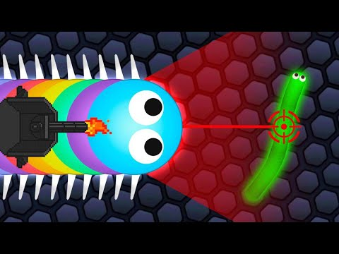 Using HACKS In Slither.io TO WIN!