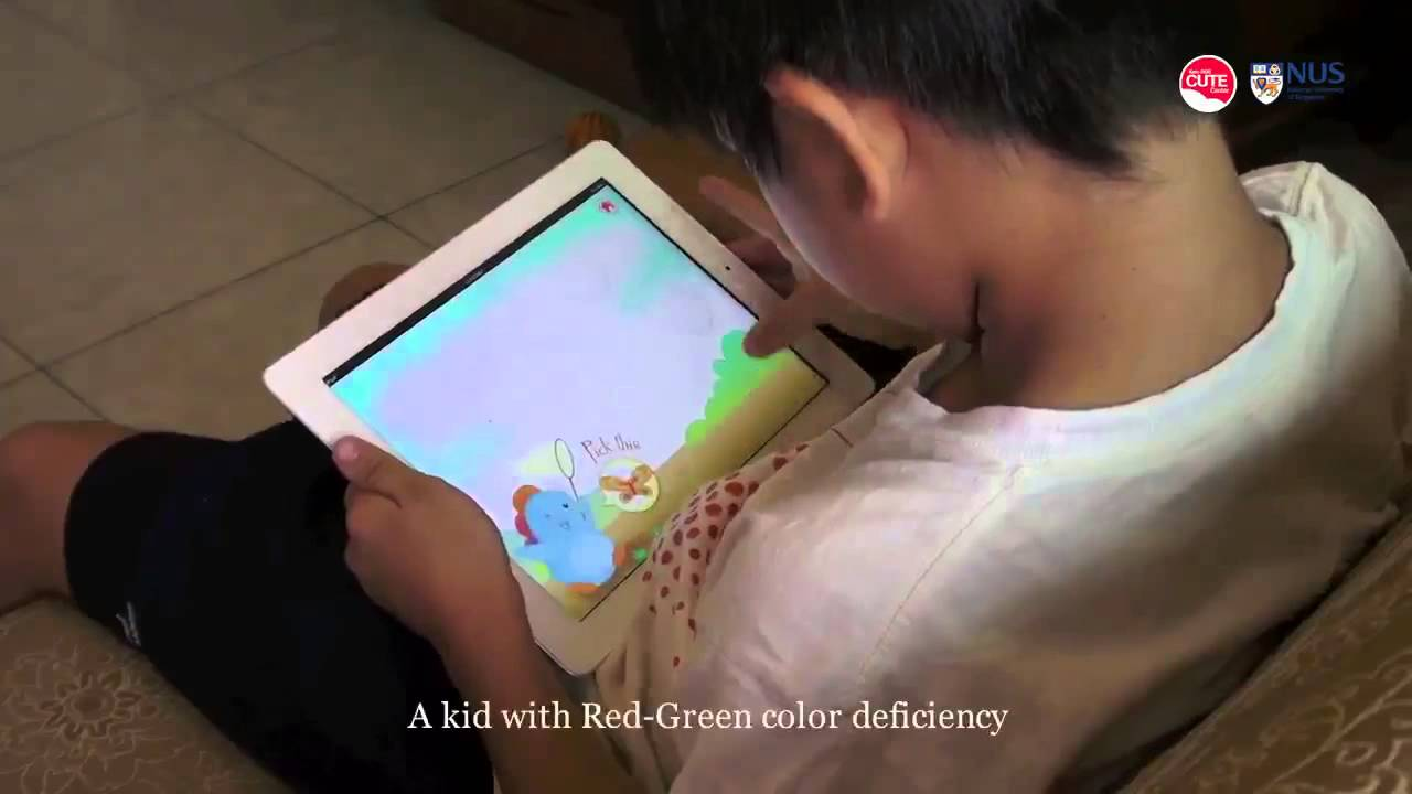 DoDo game, a color vision deficiency screening test for