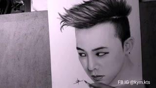Bigbang draw by Kym - G DRAGON (FULL)