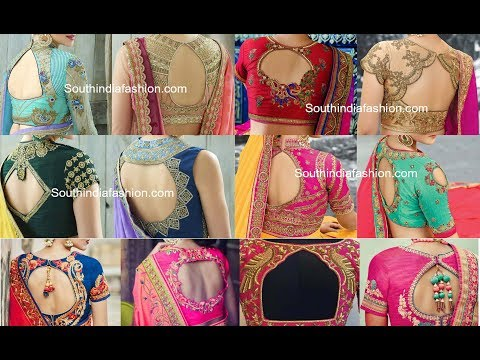 Latest Designer Blouse Designs 2017 - 2018 || Designer Saree Blouses 2017