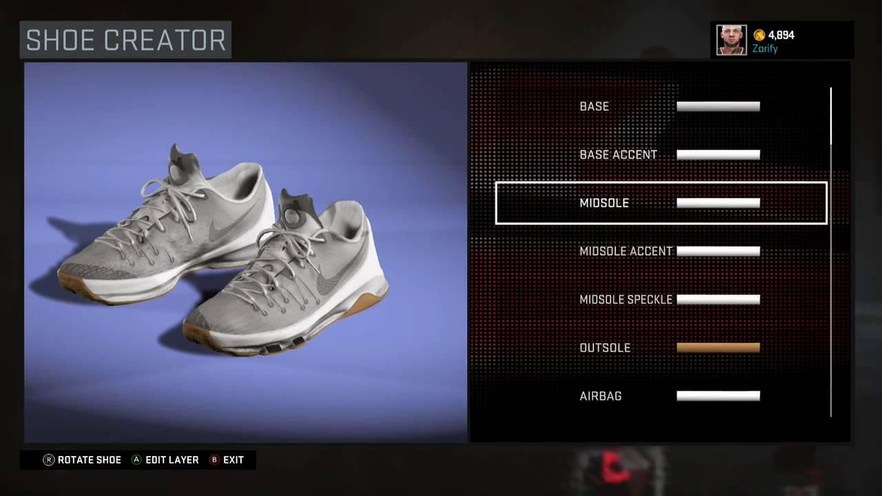 ff040437662 NBA 2K16 Shoe Creator - Nike KD 8