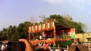 Mithun Da in Chakdaha,Nadia...for T.M.C-Jano Shova