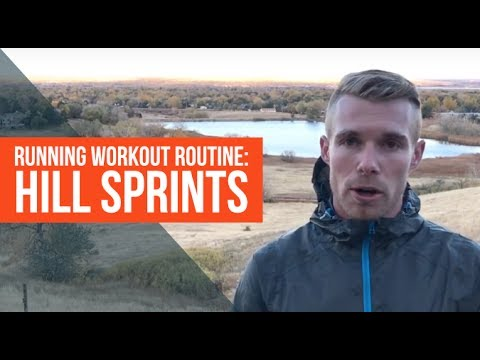 Running Workout Routine | Hill Sprints for Speed & Strength
