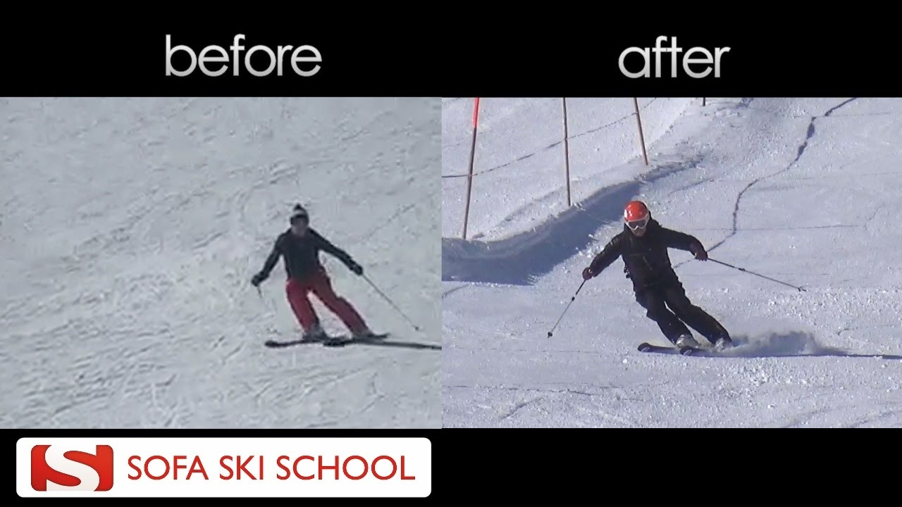 Sofa Ski School Before After Short
