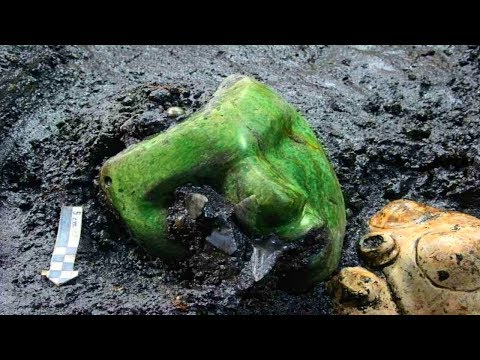 Strange Jadeite Objects Archaeologists Discovered