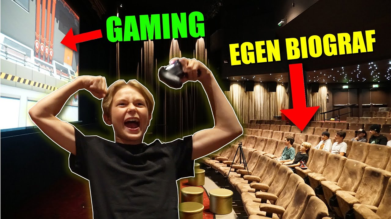 PS4-turnering på en egen BIOGRAF! *jag KROSSADE!*  |  Crash Brothers