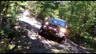 4x4 OVERLAND ADVENTURES Rock Climbing Canadian Shield Hummer H3