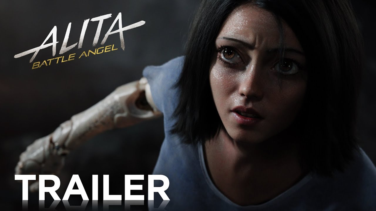 James Cameron Battle Angel Alita Trailer >> ALITA: BATTLE ANGEL | Trailer 1 - YouTube