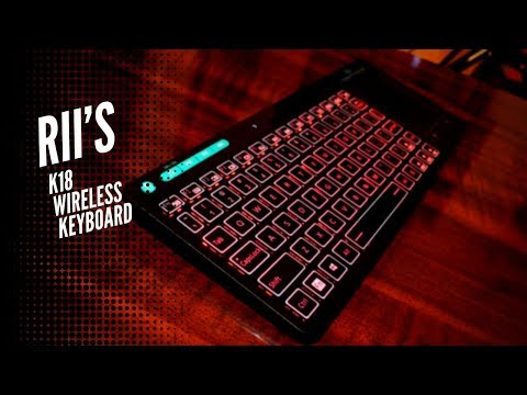 Rii's K18 Wireless Keyboard