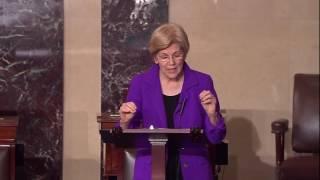 Senator Elizabeth Warren: floor speech on 21st Century Cures