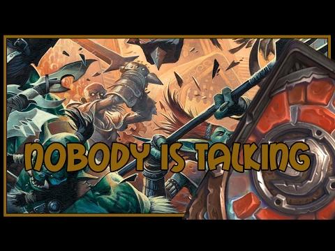 Hearthstone: Nobody is talking (control warrior)