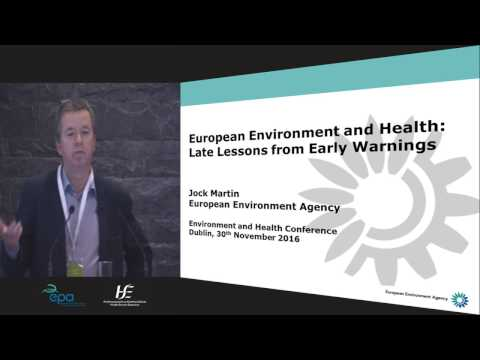 Jock Martin, European Environment Agency, Denmark