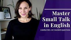 How to Master Small Talk in English with 3 Simple Rules