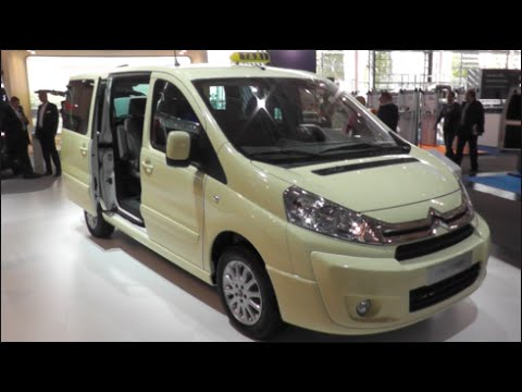 citroen jumpy multispace taxi 2015 in detail review. Black Bedroom Furniture Sets. Home Design Ideas