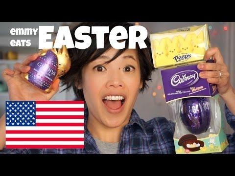 Emmy Eats Easter - U.S. Easter Basket Candies