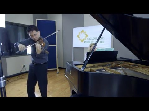 Claude Sim at the CPR Classical Performance Studio