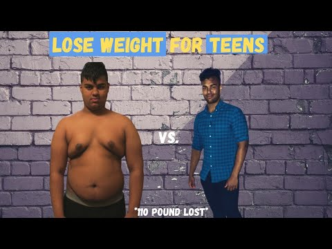How To Lose Weight For Teenagers (losing 110+ pounds)