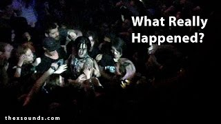 What Really Happened - Andy Biersack Fight Heckler in Vancouver - Part 2