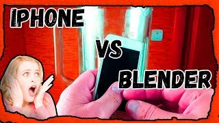 iPhone VS Blender  Айфон против блендера!
