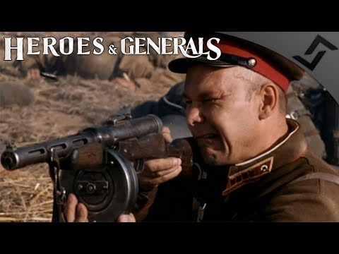 New Gun Sounds PPD-40 SMG - Heroes and Generals - Soviet CQB RNG Heaven
