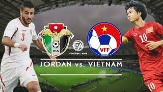 Việt Nam vs Jordan tường thuật trực tiếp VTV 6 HD.