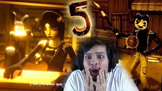 Download CAPÍTULO 5: ALLISON Y TOM ME ENCARCELAN !! SAMMY ESTÁ VIVO ! - Bendy And The Ink Machine Mp3 and Videos