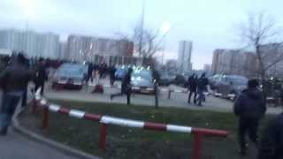 """ТЦ """"Москва"""" утро 20.11.2013 Облава"""