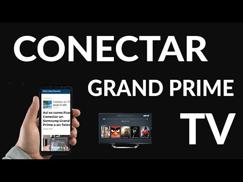 Cómo Conectar un Samsung Grand Prime a un Televisor