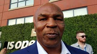 Mike Tyson on Anthony Joshua, Serena Williams and rappers with face tattoos
