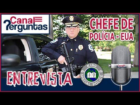 🔴[AO VIVO] Chefe de polícia respeitado nos EUA