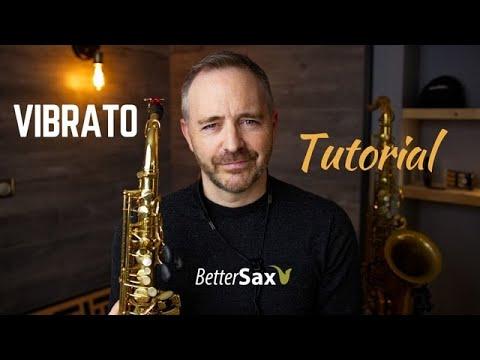 VIBRATO Tutorial - Saxophone thumbnail
