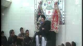 Allama Zamer Akhtar Naqvi  2nd moharam1  Imam Bargah Chaharda Masoomeen Ancholi, Karachi, Pakistan