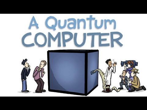 Quantum Computers Animated - YouTube