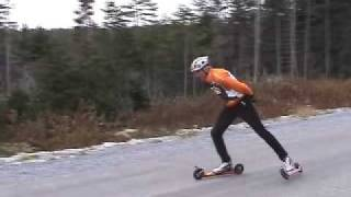 Basic Roller Skiing for Skate Technique