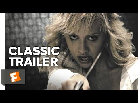 Sin City 2005  Trailer #1  Bruce Willis, Elijah Wood Crime Thriller