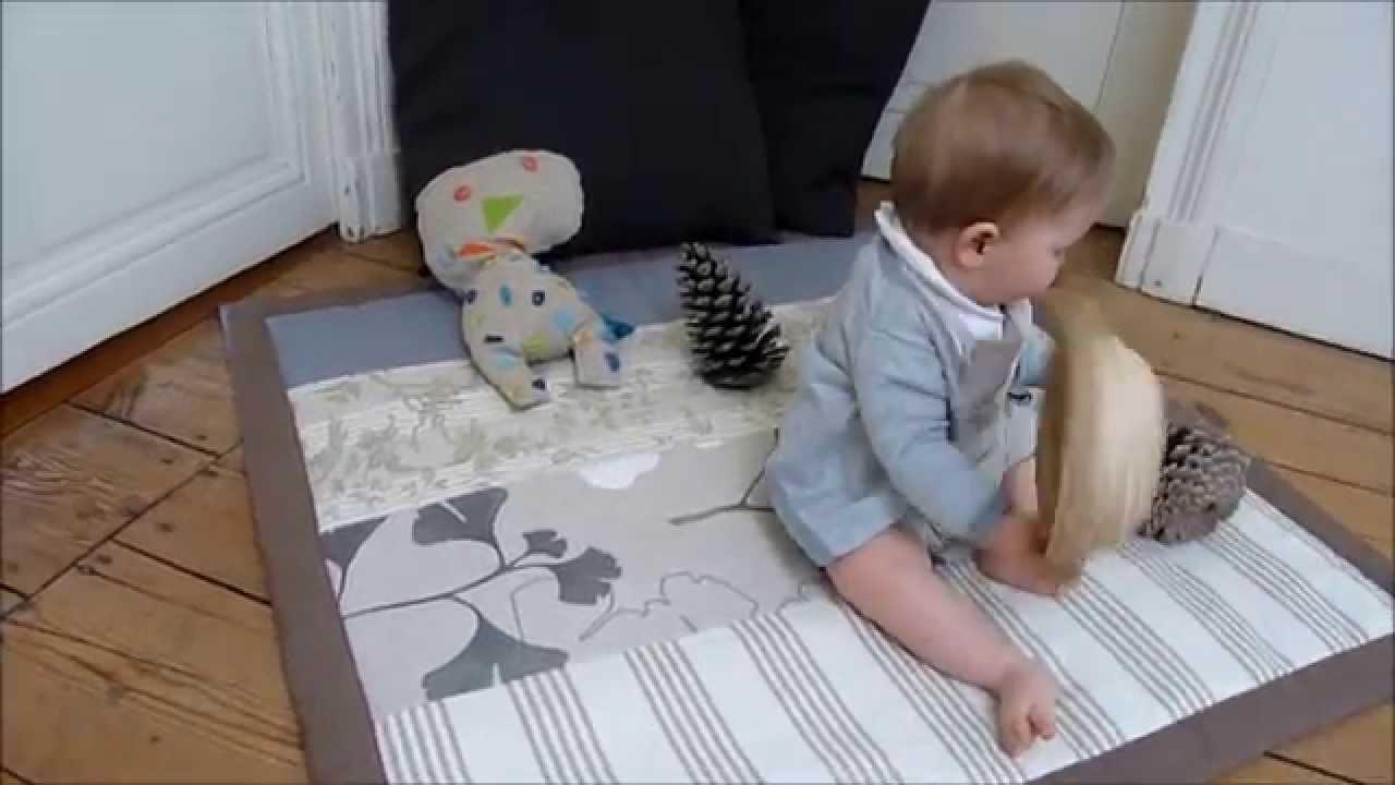 Couture Tapis De Sol Bébé tapis d'éveil bébé tellement moelleux made in france