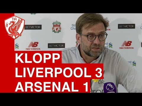 Liverpool 3-1 Arsenal: Jurgen Klopp's Post-Match Press Conference