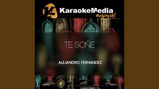 Te Soñe (Karaoke Version) (In The Style Of Alejandro Fernandez)