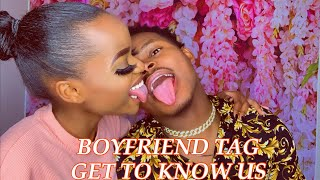 I TRIED TO DO A BOYFRIEND TAG ( And watch what happened) | Buterajm & John