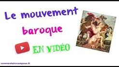 Le mouvement baroque en littérature - commentairecompose.fr