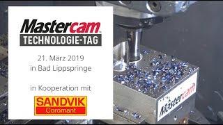 Mastercam Technologietag 2019