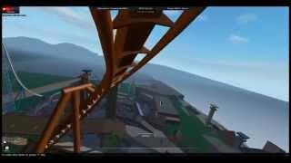 Palomea Inverted Coaster POV Aduro World ROBLOX