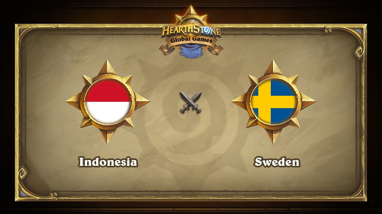 Индонезия vs Швеция | Indonesia  vs Sweden | Hearthstone Global Games (23.05.2017)