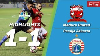 Madura United vs Persija Jakarta 1-1 All Goals & Highlights